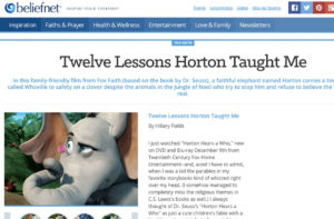 Twelve Lessons Horton Taught Me