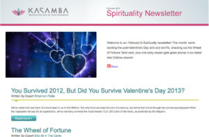Newsletter: Kasamba