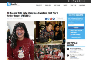 10 Scenes With Ugly Christmas Sweaters That You'd Rather Forget