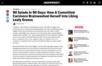 90 Salads In 90 Days: How A Committed Carnivore Brainwashed Herself Into Liking Leafy Greens