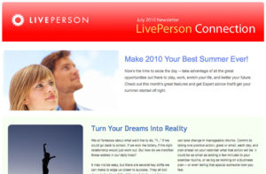 Newsletter: LivePerson Connection