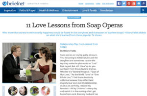 11 Love Lessons from Soap Operas
