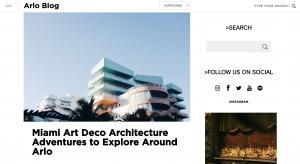 A screenshot of the original post on the Arlo Hotel Blog.
